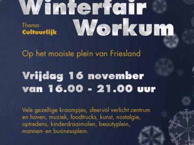 Winterfair Workum op 16 november van 16-21 uur